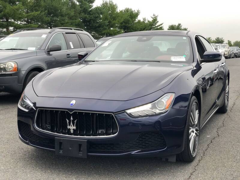 2017 Maserati Ghibli for sale at SILVER ARROW AUTO SALES CORPORATION in Newark NJ