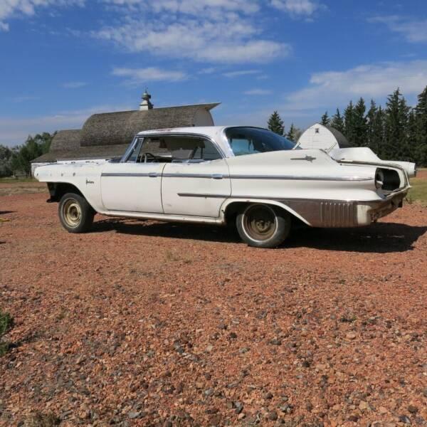 1960 Dodge Polara D500  4 DR. HT. for sale at MOPAR Farm - MT to Un-Restored in Stevensville MT