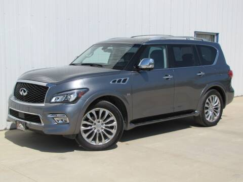 2017 Infiniti QX80 for sale at Lyman Auto in Griswold IA