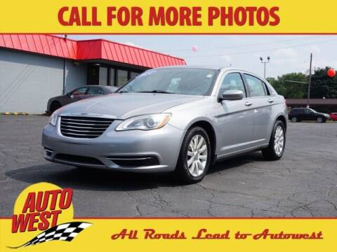 2014 Chrysler 200 for sale at Autowest of GR in Grand Rapids MI