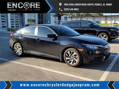 2017 Honda Civic for sale at PHIL SMITH AUTOMOTIVE GROUP - Encore Chrysler Dodge Jeep Ram in Mobile AL