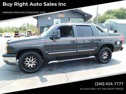2006 Chevrolet Avalanche for sale at Buy Right Auto Sales Inc in Fort Wayne IN