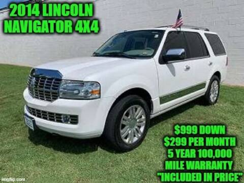 2014 Lincoln Navigator for sale at D&D Auto Sales, LLC in Rowley MA