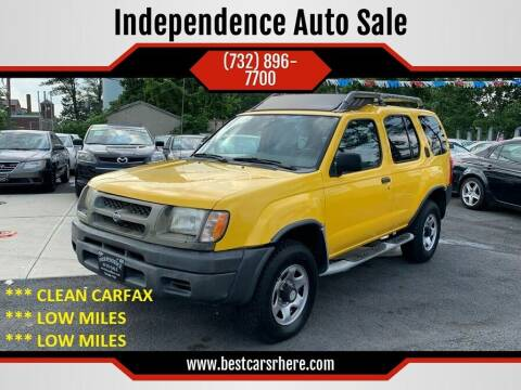 2000 Nissan Xterra for sale at Independence Auto Sale in Bordentown NJ