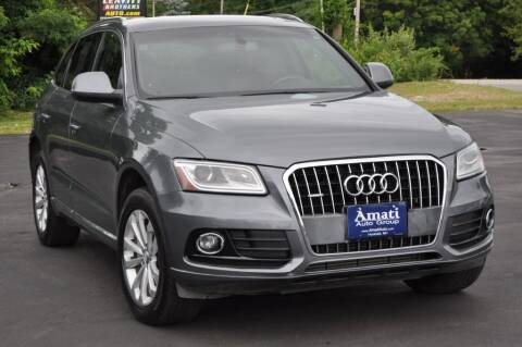 2013 Audi Q5 for sale at Amati Auto Group in Hooksett NH