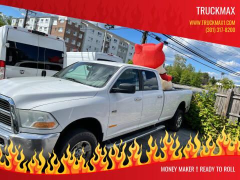 2012 RAM Ram Pickup 2500 for sale at TruckMax in N. Laurel MD