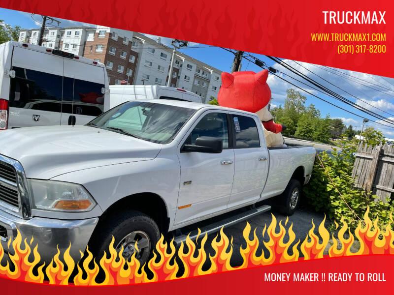 2012 RAM Ram Pickup 2500 for sale at TruckMax in Laurel MD