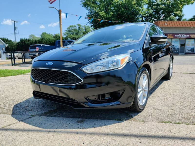 2017 Ford Focus for sale at Lamarina Auto Sales in Dearborn Heights MI