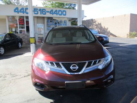 2012 Nissan Murano for sale at Elite Auto Sales in Willowick OH