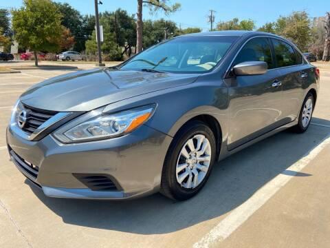 2016 Nissan Altima for sale at Safe Trip Auto Sales in Dallas TX