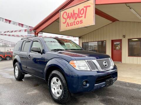 2012 Nissan Pathfinder for sale at Sandlot Autos in Tyler TX