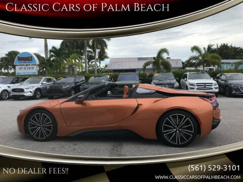 2019 BMW i8 for sale at Classic Cars of Palm Beach in Jupiter FL