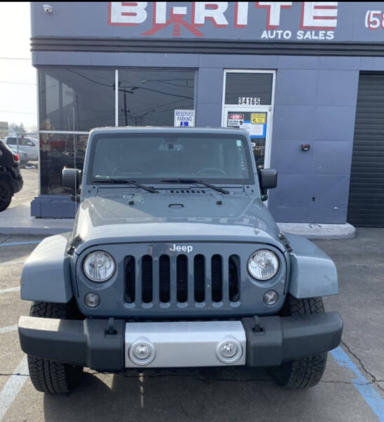2015 Jeep Wrangler Unlimited for sale at Bi-Rite Auto Sales in Clinton Township MI