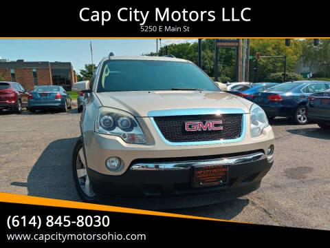 2011 GMC Acadia for sale at Cap City Motors LLC in Columbus OH