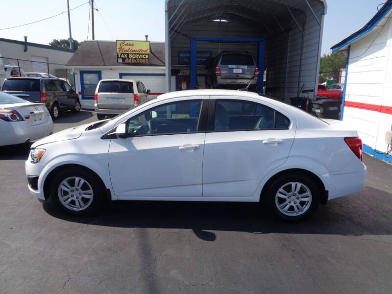 2012 Chevrolet Sonic for sale at Cars Unlimited Inc in Lebanon TN