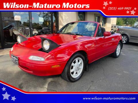 1991 Mazda MX-5 Miata for sale at Wilson-Maturo Motors in New Haven CT