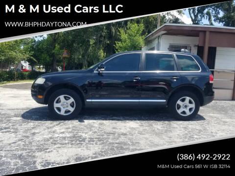 2005 Volkswagen Touareg for sale at M & M Used Cars LLC in Daytona Beach FL