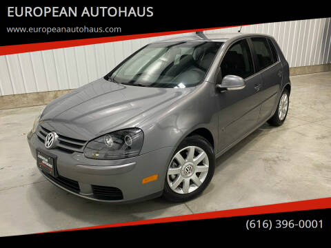 2009 Volkswagen Rabbit for sale at EUROPEAN AUTOHAUS in Holland MI