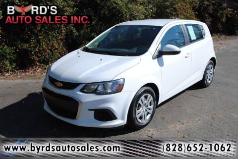 2017 Chevrolet Sonic for sale at Byrds Auto Sales in Marion NC