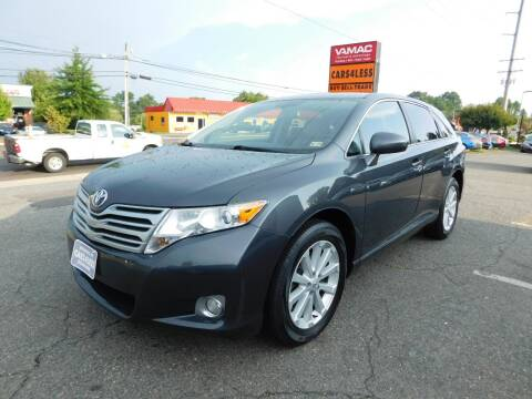2010 Toyota Venza for sale at Cars 4 Less in Manassas VA