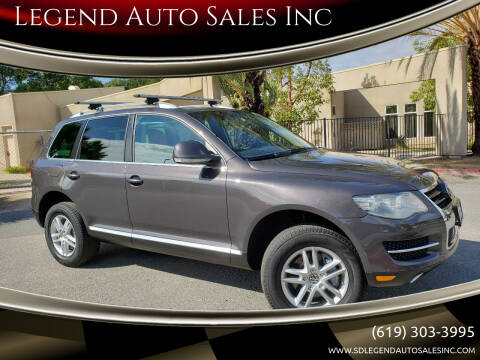 2008 Volkswagen Touareg 2 for sale at Legend Auto Sales Inc in Lemon Grove CA