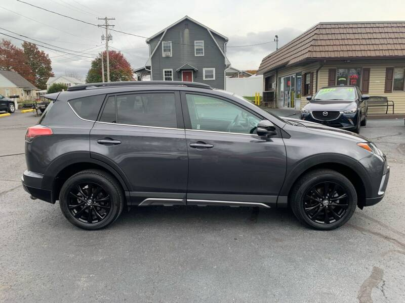2018 Toyota RAV4 for sale at MAGNUM MOTORS in Reedsville PA