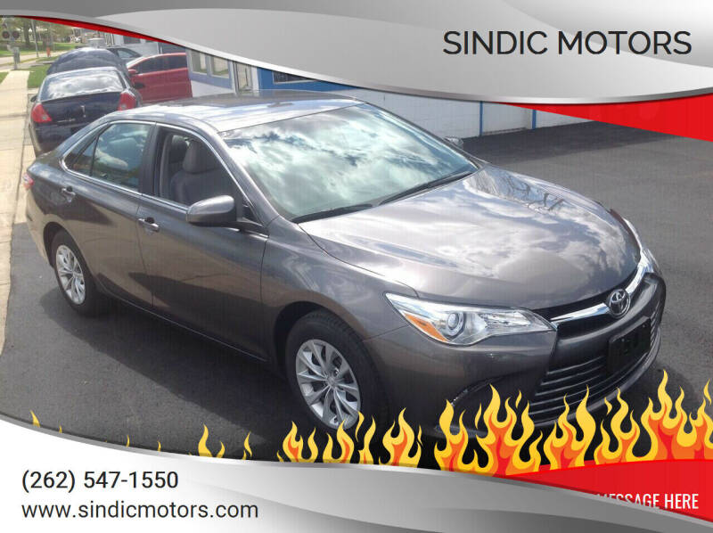 2016 Toyota Camry for sale at Sindic Motors in Waukesha WI