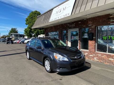 2012 Subaru Legacy for sale at M&M Auto Sales in Portland OR