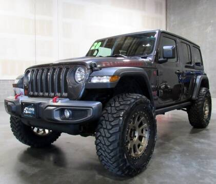 2020 Jeep Wrangler Unlimited for sale at Platinum Motors in Portland OR