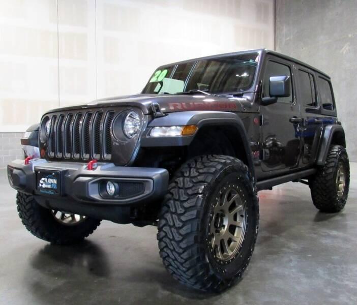 2020 Jeep Wrangler Unlimited for sale at Platinum Motors in Portland OR