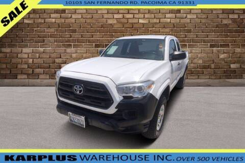 2016 Toyota Tacoma for sale at Karplus Warehouse in Pacoima CA
