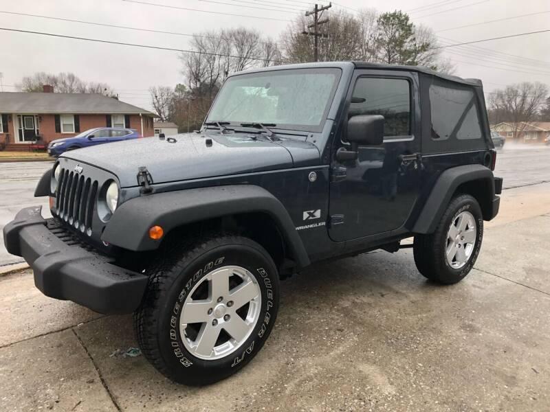 2008 Jeep Wrangler for sale at E Motors LLC in Anderson SC