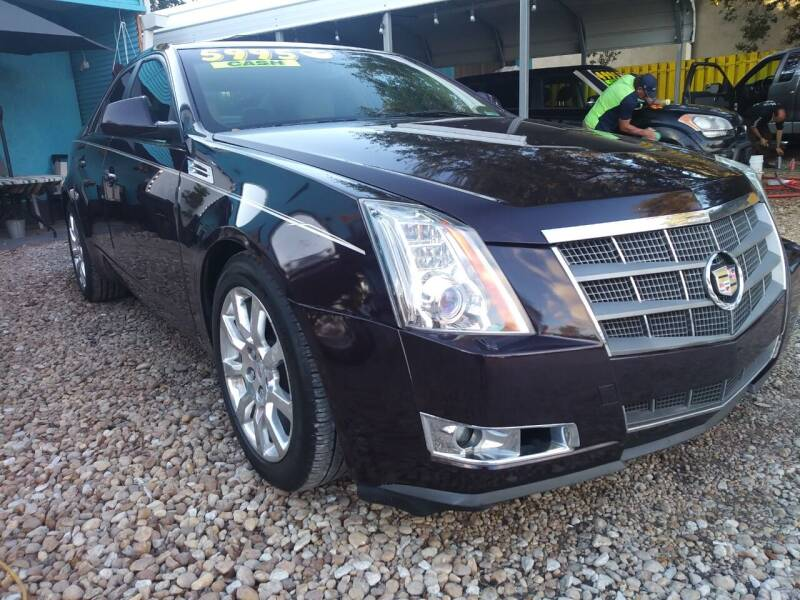 2008 Cadillac CTS for sale at AFFORDABLE AUTO SALES OF STUART in Stuart FL