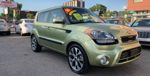 2013 Kia Soul for sale at Sanaa Auto Sales LLC in Denver CO