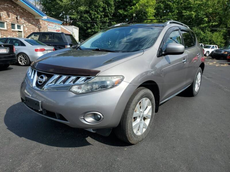 2010 Nissan Murano for sale at K Tech Auto Sales in Leominster MA
