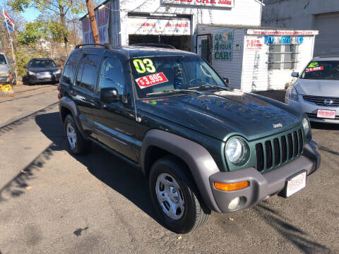 2003 Jeep Liberty for sale at Riverside Wholesalers 2 in Paterson NJ
