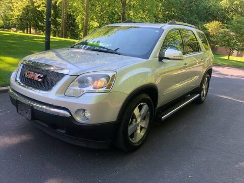 2011 GMC Acadia for sale at Bowie Motor Co in Bowie MD