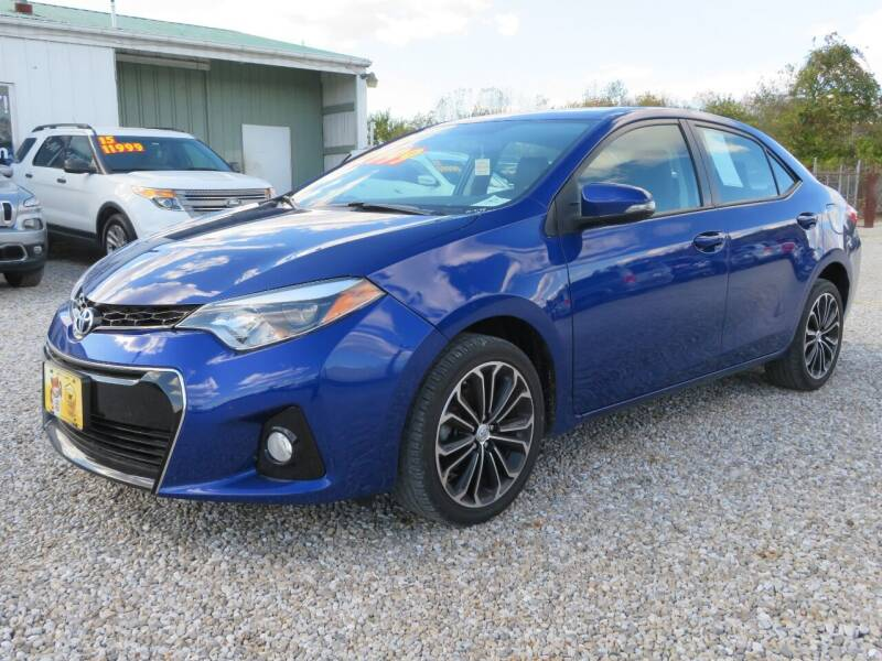 2015 Toyota Corolla for sale at Low Cost Cars in Circleville OH