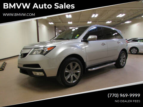2010 Acura MDX for sale at BMVW Auto Sales in Union City GA