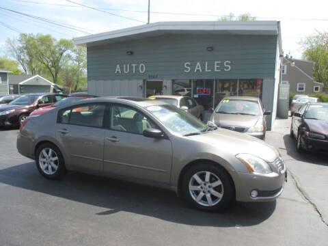 2006 Nissan Maxima for sale at SHEFFIELD MOTORS INC in Kenosha WI