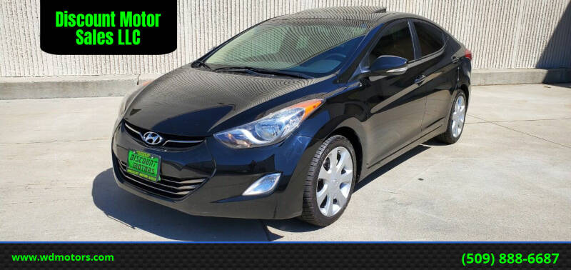 2012 Hyundai Elantra for sale at Discount Motor Sales LLC in Wenatchee WA