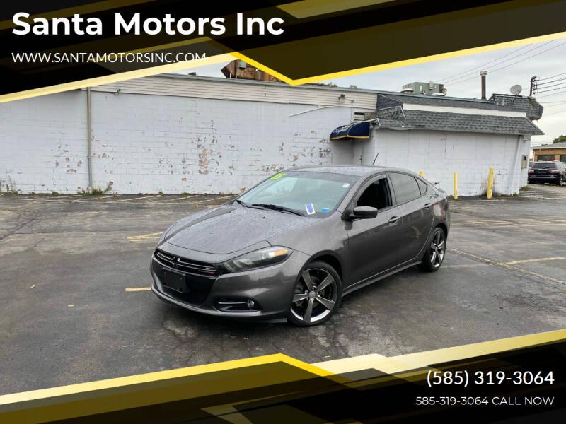 2015 Dodge Dart for sale at Santa Motors Inc in Rochester NY