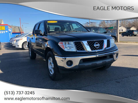 2005 Nissan Frontier for sale at Eagle Motors in Hamilton OH