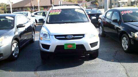 2009 Kia Sportage for sale at JIMS AUTO MART INC in Milwaukee WI