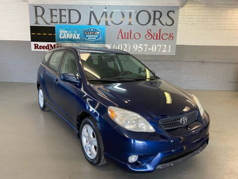 2006 Toyota Matrix for sale at REED MOTORS LLC in Phoenix AZ