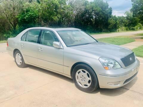 2001 Lexus LS 430 for sale at Luxury Motorsports in Austin TX