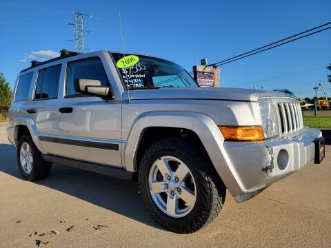 2006 Jeep Commander for sale at CarNation Auto Group in Alliance OH