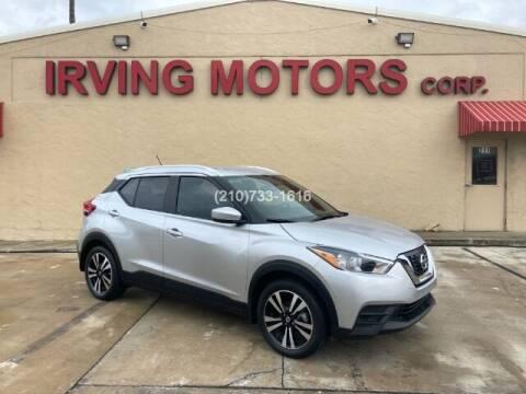 2019 Nissan Kicks for sale at Irving Motors Corp in San Antonio TX