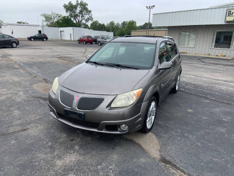 2005 Pontiac Vibe for sale at Bruce Kunesh Auto Sales Inc in Defiance OH