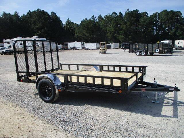 """2022 PJ Trailers 83"""" x 12' U8 Single Axle Chann for sale at Vehicle Network - HGR'S Truck and Trailer in Hope Mills NC"""